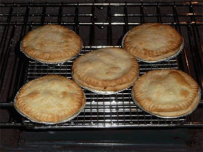 Homemade pies in the Hudson Valley